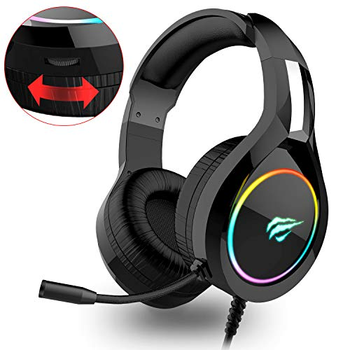 havit RGB Wired Gaming Headset P...