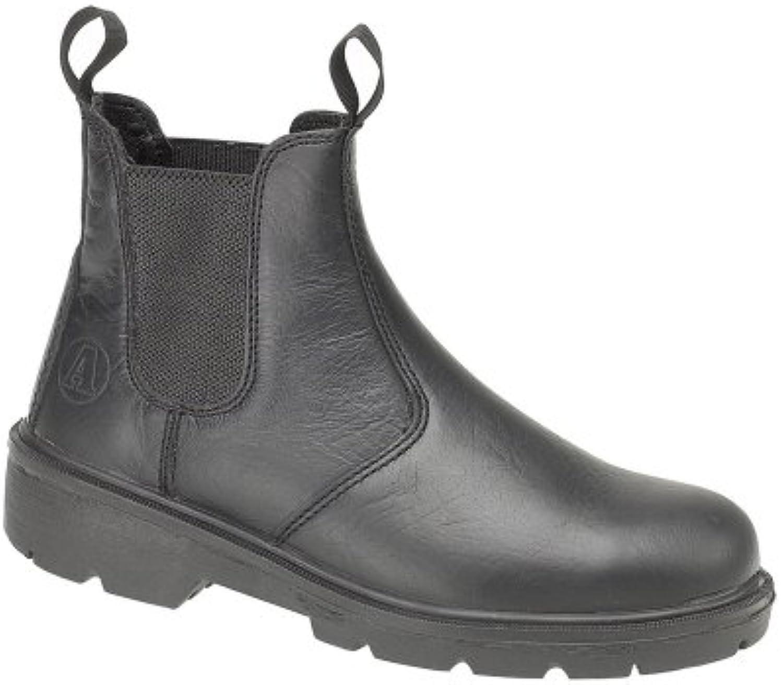 Footsure FS116 Pull-On Dealer Boot Black Size 12