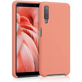 MUTOUREN TPU H/ülle kompatibel mit Samsung Galaxy A7 2018 A750 Handyh/ülle Ultra D/ünne Fl/üssig Silikon Schutz Case Cover Anti-Scratch Sto/ßfest Schutzh/ülle Bumper Dunkelblau
