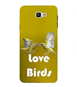 PrintVisa Love Birds 3D Hard Polycarbonate Designer Back Case Cover for Samsung Galaxy On Nxt