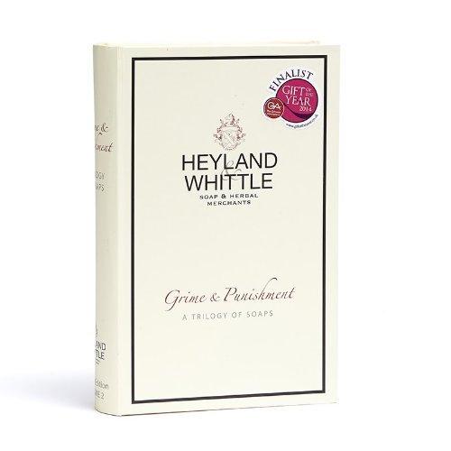 Buch-Geschenkverpackung 3 Herren-Seifen 95g