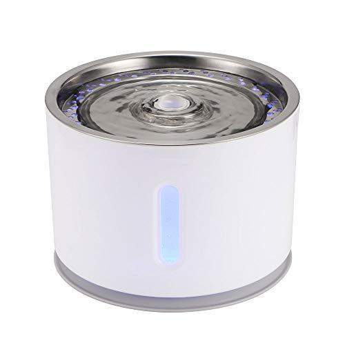PPOUTDD2.4L Automatische Haustier Katze Brunnen Mit LED Elektrische USB Hund Katze Haustier Ruhigen Trinkwasser Feeder Schüssel Haustier Wasserspender Spender -