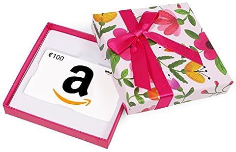 Carte cadeau Amazon.fr - €100 - Dans un coffret à