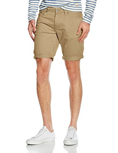 JACK & JONES Herren Shorts JJIRICK ORIGINAL PAC, Beige (Kelp), X-Large