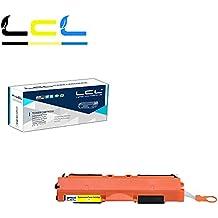 LCL(TM) 126A CE312A 729 CRG729 (1-Pack Amarillo) Cartuchos de Tóner Compatible para HP LaserJet 200 color MFPM175nw M175a M175b M175c M175e M175p M175r M275s M275t M275u M275nw Canon LBP 7010C 7018C