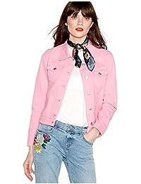 Debenhams Red Herring Womens Pink Denim Trucker Jacket