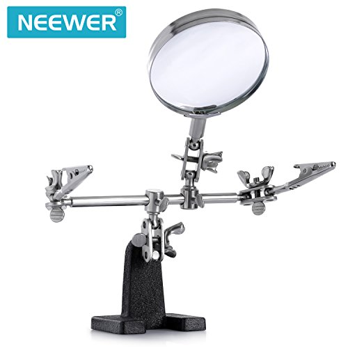 neewer-fer-a-souder-stand-support-helping-hand-loupe-station-25-x-mains-libres-loupe-stand-avec-2-pi