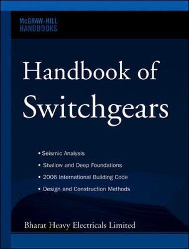 Handbook of Switchgears (Mcgraw-hill Handbooks) por Bharat Heavy Electricals Limited