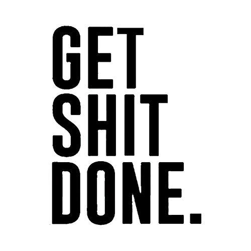 Deanyi Lassen Sie Scheiße Fertig Wand Aufkleber Laptop Apple MacBook Auto Quote Wandtattoo Aufkleber Kunst Vinyldekor Inspiration Motivation Arbeit Aufkleber Home dekor