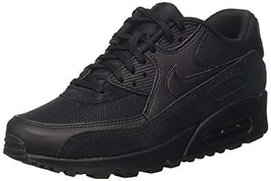 Nike Women's Air Max 90 Black/Black Black Running Shoe 8. 5 Women US