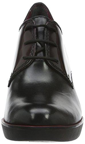 Tamaris 23300, Bottes Classiques Femme Noir (Black/Bordeaux 086)