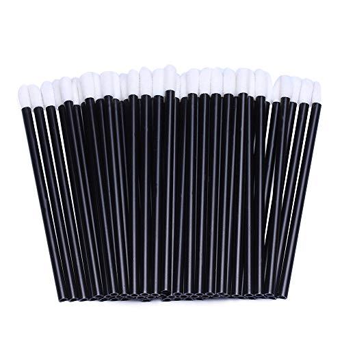 Set monouso di pennelli per labbra per rossetto e lucidalabbra; bastoncini con applicatore per trucco; 200 pezzi