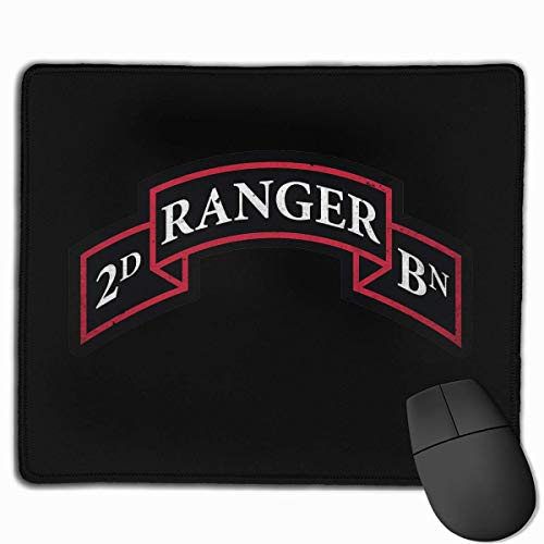 US Army Retro 2nd Ranger Battalion Laptop Mouse Pads Mousepad Laptop Mats 9.8
