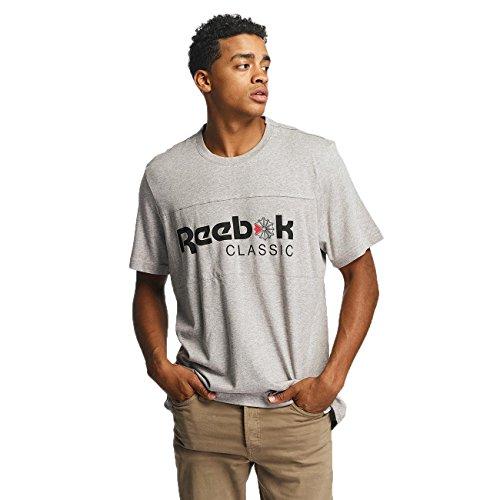 Reebok Herren Oberteile / T-Shirt F Franchise Iconic Grau