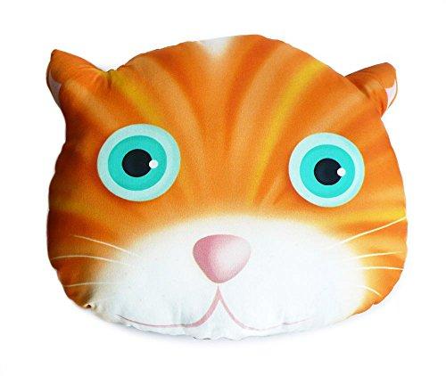 Coussin tête de chat