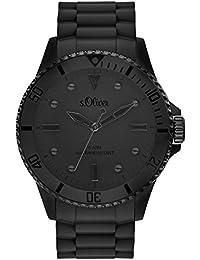 s.Oliver Time Unisex Erwachsene-Armbanduhr SO-3414-PQ