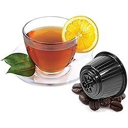 DOLCE GUSTO SCHWARZTEE - 10 Stück Kompatible Teekapseln von Caffè Bonini Italien