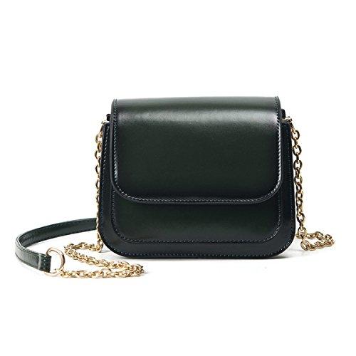 KYFW Womens Die Neue Weibliche Paket-Art Und Weise Einfache Wilde Schulter-Kurier-Beutel-Handtaschen B