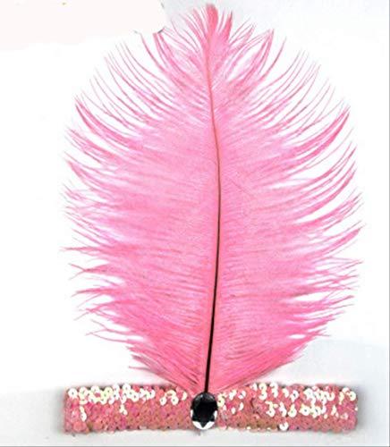 Cintas cabello plumas Flapper Lentejuelas Accesorios