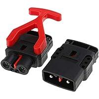 YSSP Conector rápido de la batería (80A- 6AWG) Plug Conectar Desconectar el Torno Accesorios for el Coche