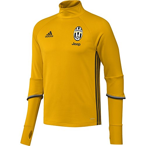 adidas-juve-trg-top-sweatshirt-pour-homme-or-gris-m-taille-m
