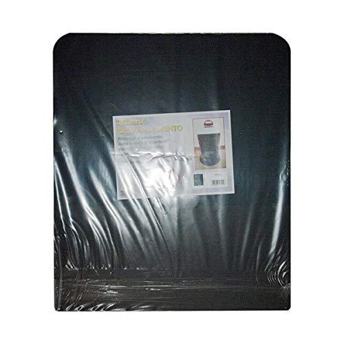sol noir plate-forme de protection pour poêle à bois et à granulés cm. plates-formes 60x70.