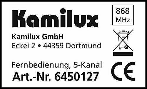 Set Kamilux Super Funk-LED Dimmer inkl. Funk-Fernbedienung max.400 Watt 8-230Volt Steuerspannung für dimmbare LED Leuchtmittel