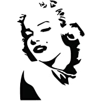Sticker-Designs 15cm Aufkleber-Folie Wetterfest Made IN Germany Marilyn Monroe Bke085 Jahre haltbar UV/&Waschanlagenfest Auto-Vinyl-Sticker Decal ProfiQualit/ätToilettendeckel