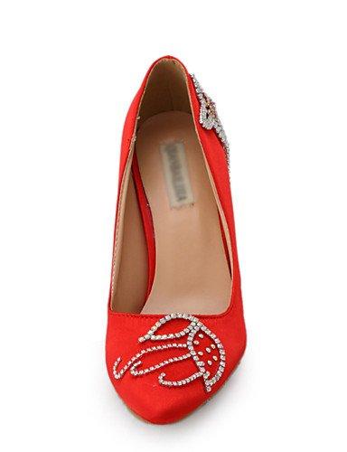 WSS 2016 Chaussures de mariage-Rouge-Mariage / Habillé / Soirée & Evénement-Talons-Talons-Homme 3in-3 3/4in-us7.5 / eu38 / uk5.5 / cn38