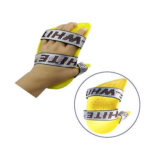 Distanziatore dita riposare tutore mano sinistra medio per neuropatia, immobilizzatore, estensione tempi, tastiera ortopedica, riabilitazione disfunzione mano e tensione anormale (Mano sinistra)