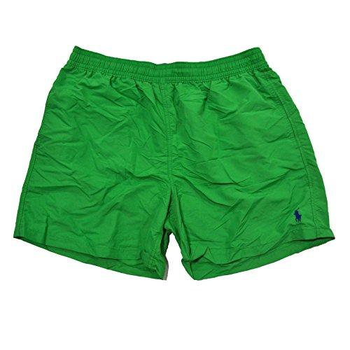 Boxer da mare Ralph Lauren Hawaii - Tiller Green (Shell Accenti)