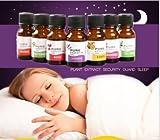 Ätherische Öle, 10ml 100% Reine & Natürliche ätherische Öle Aromatherapie Duft Hautpflege (Zitrone, Kamille, Orange