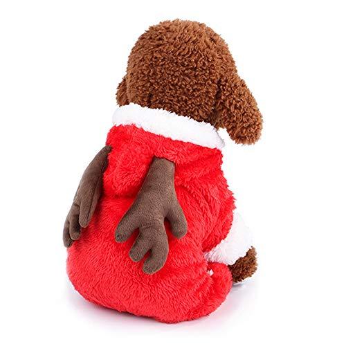 Morbuy Hund Katzen Welpe Kostüm Kapuzenpullis, Haustiere Pullover -