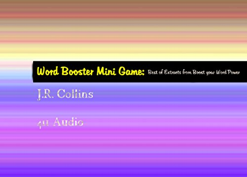 Word Booster Mini Game I: Best Extracts from Boost Your Word Power (Best of Word Trivia Games Book 1) (English Edition)