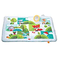 Tiny Love Super Mat, Large Activity Play Mat Suitable from Birth, 0 Month +, 150 x 100 cm, Meadow Days