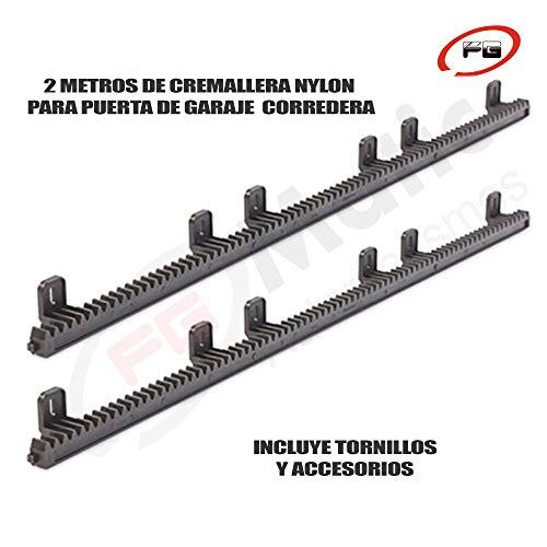 2-Metros-de-cremallera-de-nylon-reforzada-en-acero-para-puerta-o-cancela-de-corredera
