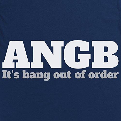 ANGB T-Shirt, Herren Dunkelblau
