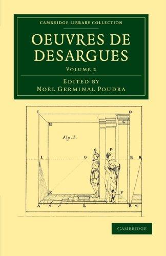 Oeuvres de Desargues par Noel Germinal Poudra