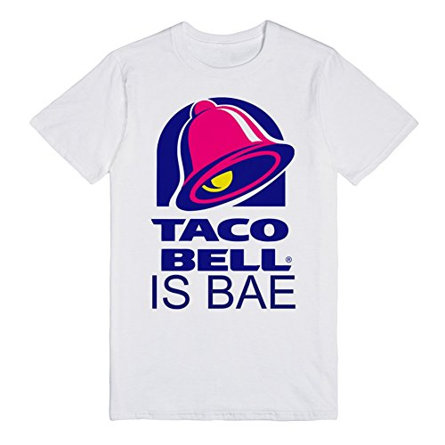 taco-bell-is-bae-m-white-t-shirt-funny-food-taco-bell-shirts