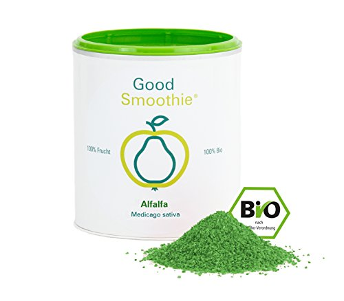 Good Smoothie 100 % Bio-Alfalfa (Luzerne) Pulver 175 g