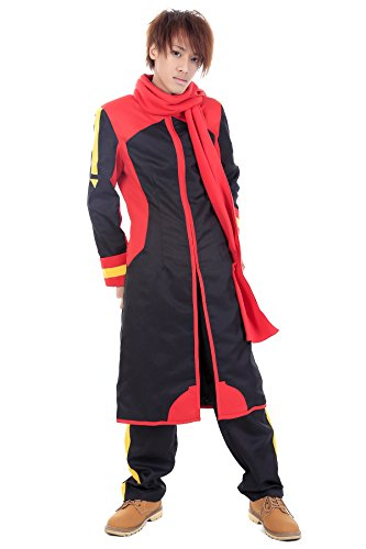 De-Cos Vocaloid Family Cosplay Costume Shion Nigaito Black Outfit V2 (Cosplay Kostüm Akaito)