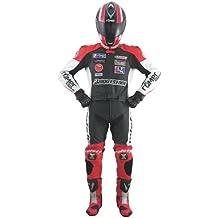 Roleff Racewear Mono Motorrad Negro / Rojo ES 58 (DE 56)