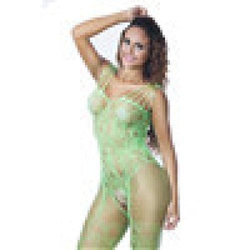 Schlinge Nachthemd Nachtkleid Puppe Spitze Transparent Versuchung Lange Straps Sleepwear Elastizität Fest Einteiler Underwear Nachtkleid Sexy Erotik Dessous (Freie Größe, Grün) (Grüne Spitze Hüte)