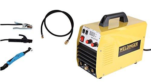 WELDINGER WIG-Schweißgerät WE 201P DC - HF gezündet 200A (Elektroden Schweißinverter)