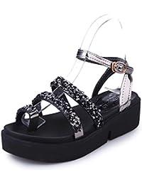 Culater Plataformas mujer Sandalias dulces Zapatos del verano