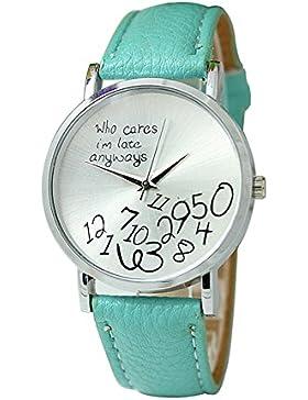 Armbanduhr - SODIAL(R) Unisex Uhr mit