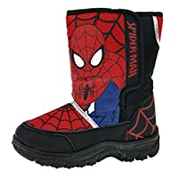 Marvel Spiderman Boys Snow Boots
