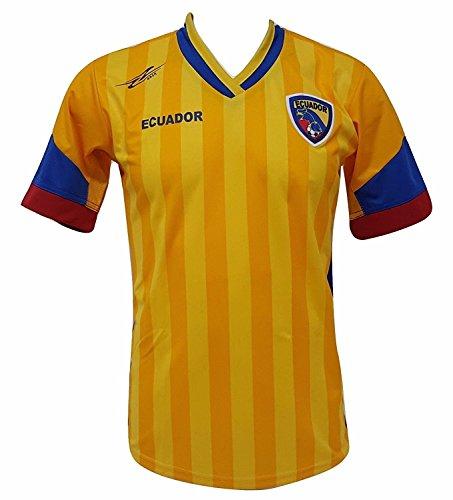 Arza Sports Ecuador fútbol Camiseta de los Hombres Copa América 2016Diseño Exclusivo - Amarillo -