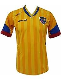 Arza Sports Ecuador fútbol Camiseta de los Hombres Copa América 2016 Diseño Exclusivo