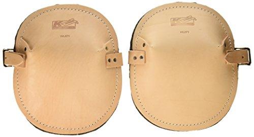 Genouillères en cuir pour professionnels en cuir en Kraft